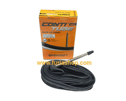 Camara Continental Race Light Conti Tube 700X20 a 25C con 80mm